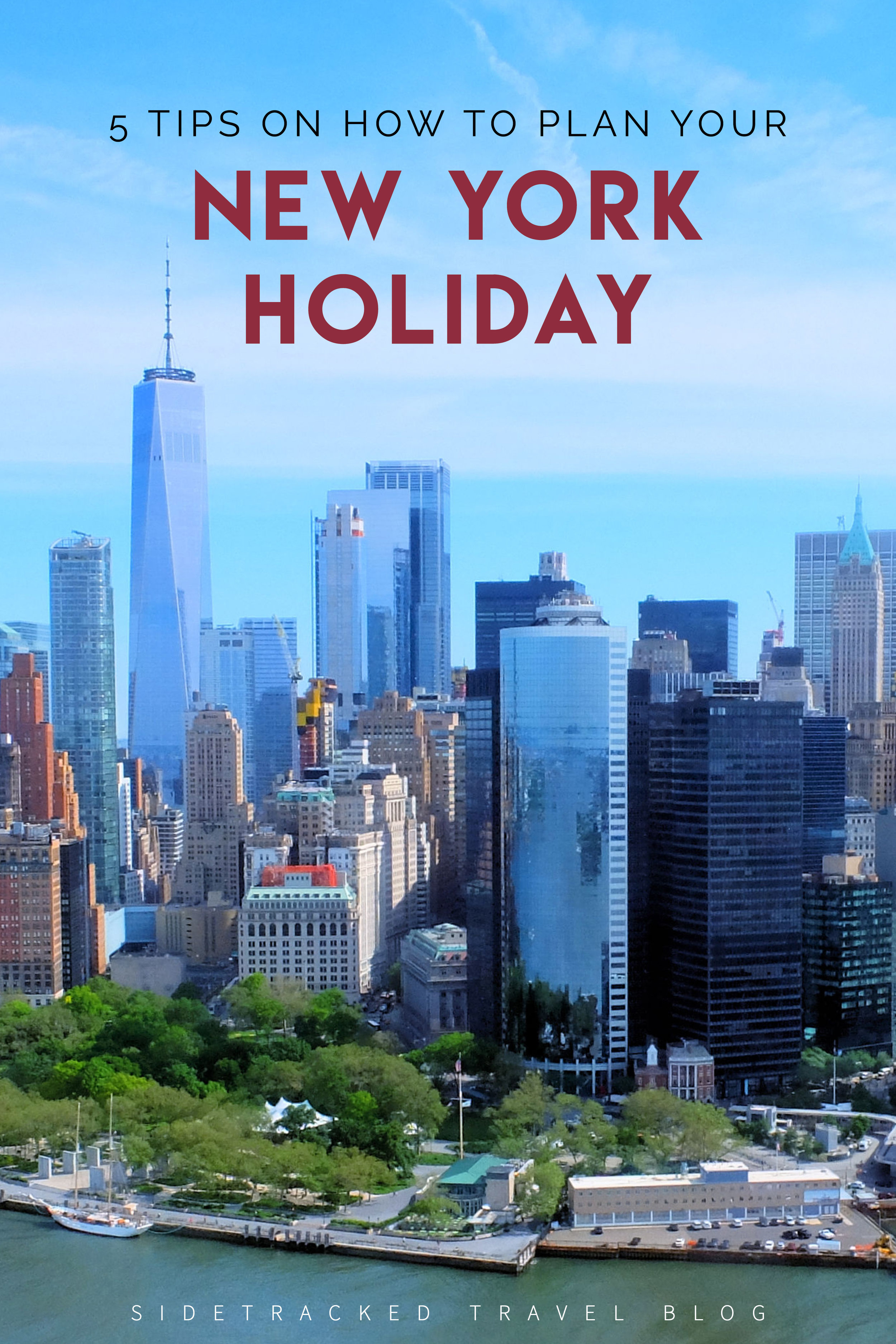 Planning a trip to New York City can be daunting, as there is so much to see and do. Over 13 miles in length, the island of Manhattan is so densely populated that even the famous Empire State Building has its own zip code! The recipe for success when planning your holiday? A checklist, of course!