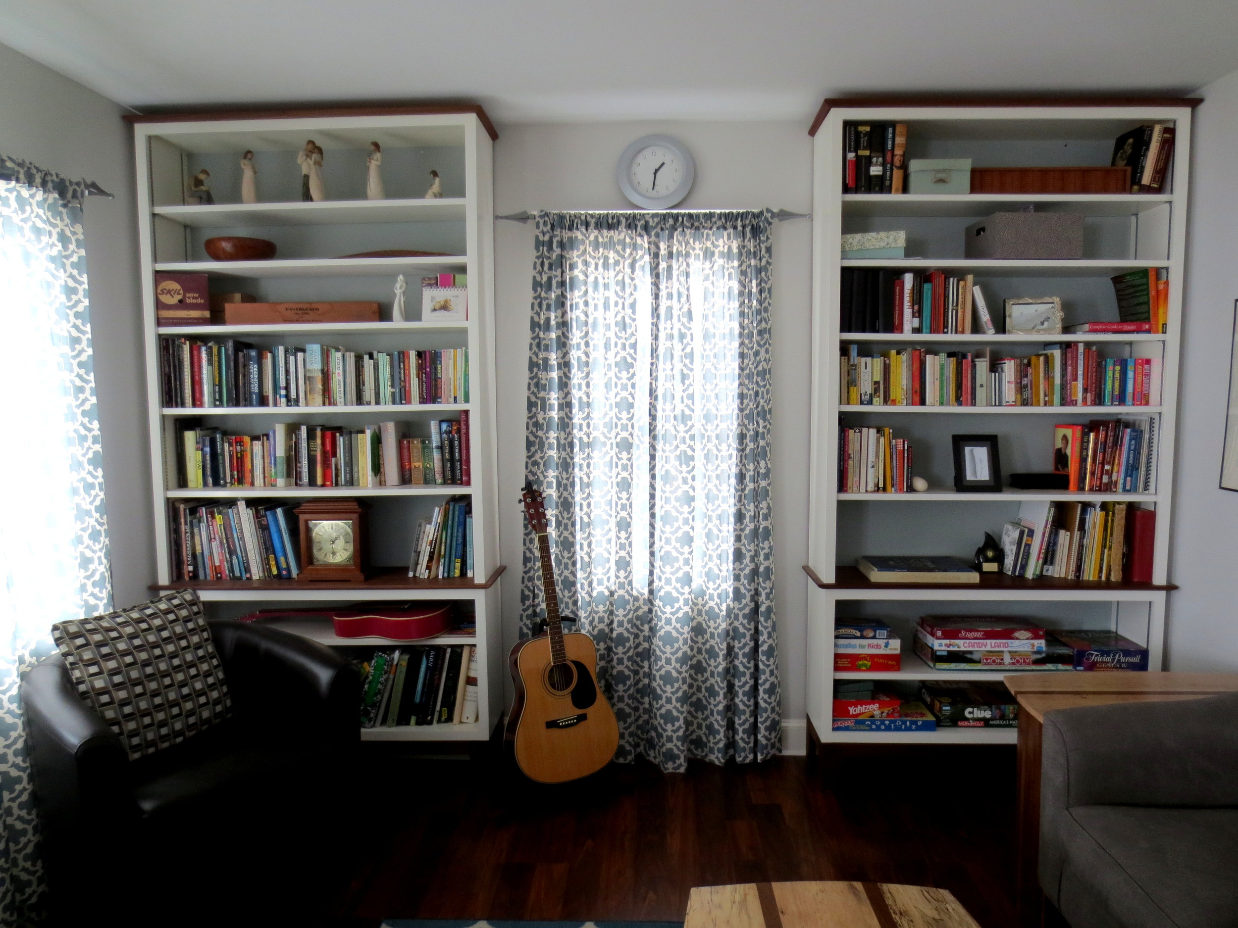 matching bookcases 2014.JPG