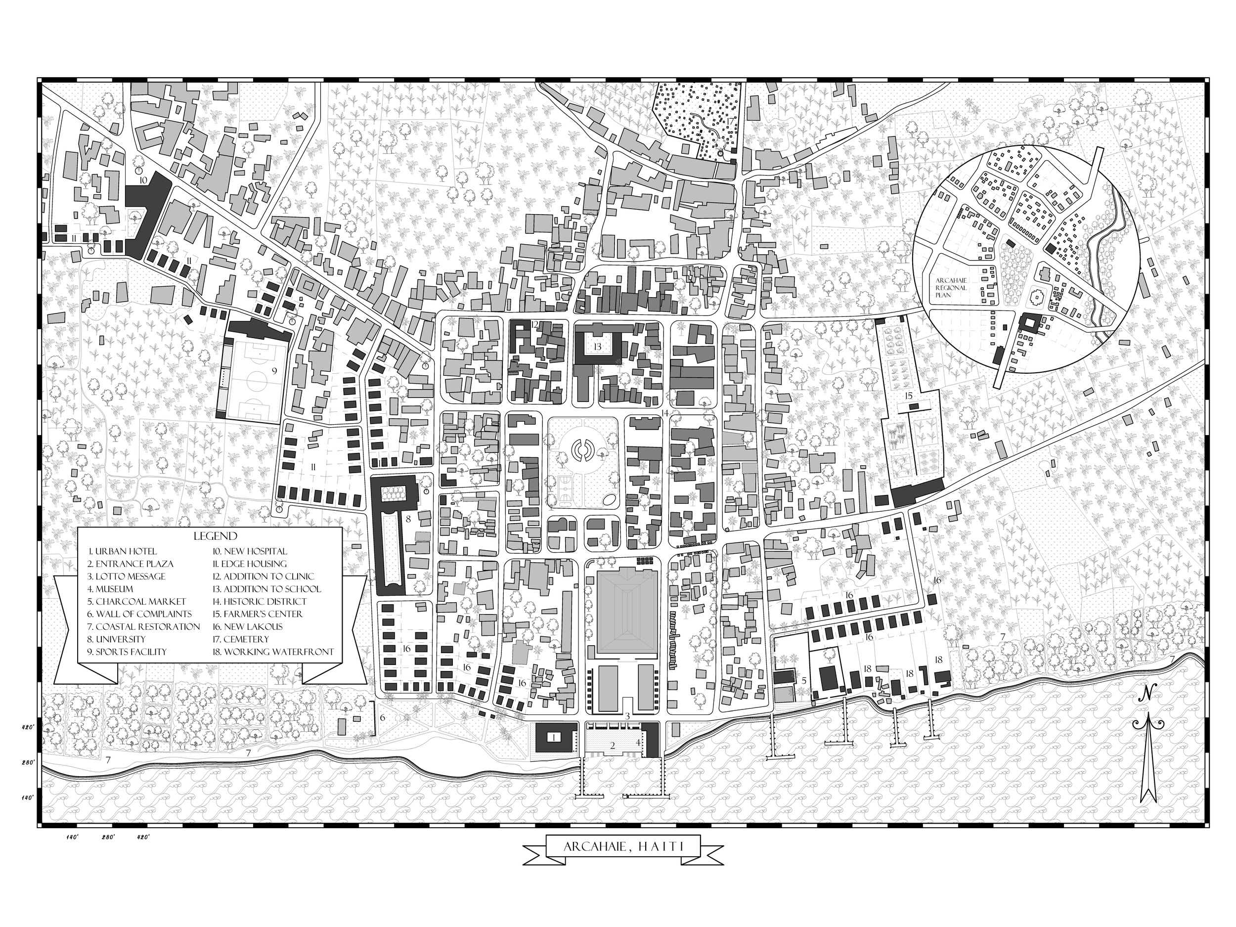 Arcahaie Master Plan with Proposals