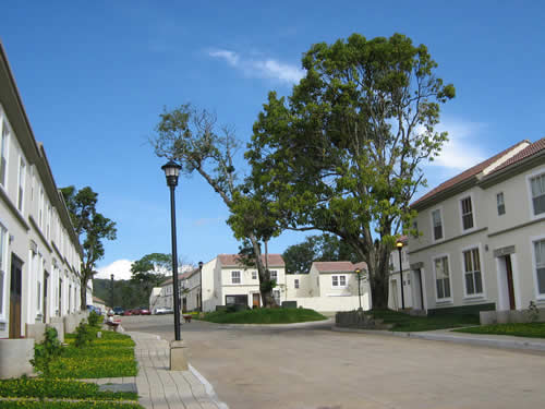 Street View Into San Augustine Neighborhood