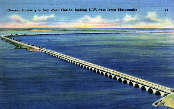 HISTORIC POSTCARD (Flagler era)
