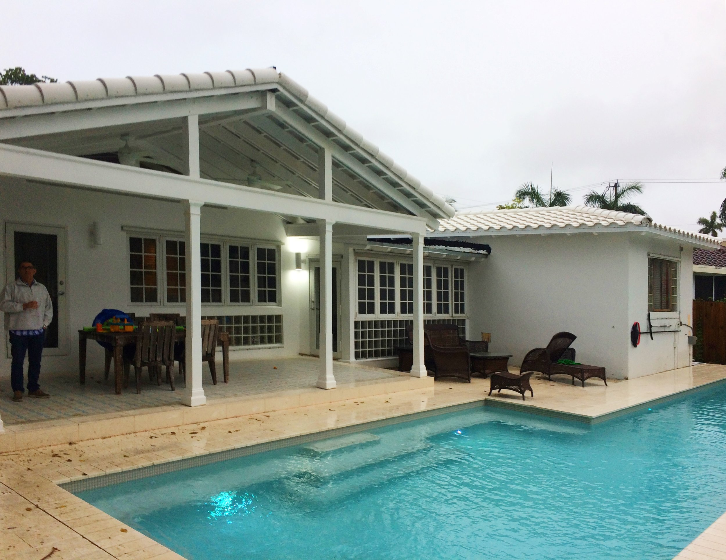 POOL AND PORCH