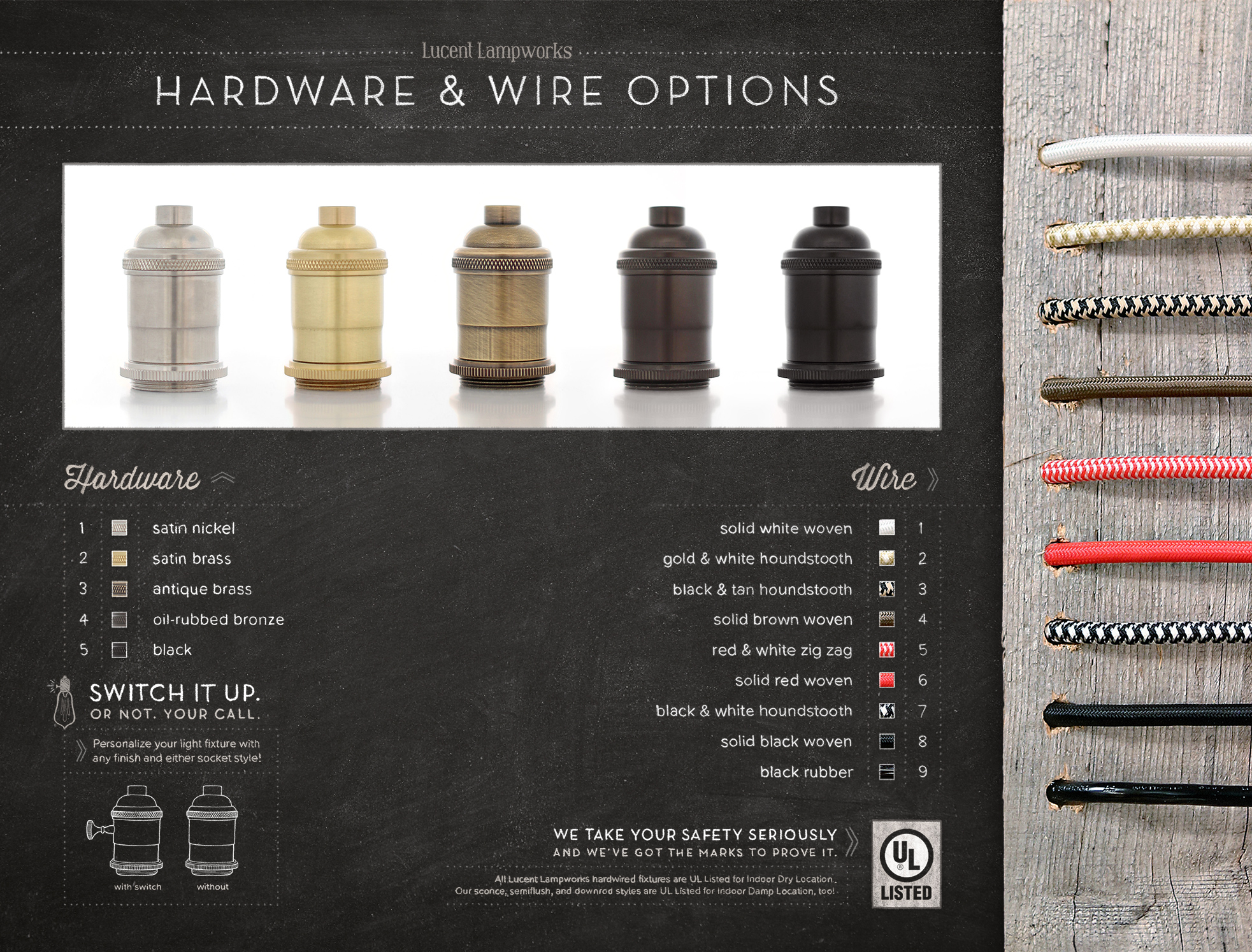 Lucent Lampworks Hardware & Wire Selection with Switches.jpg