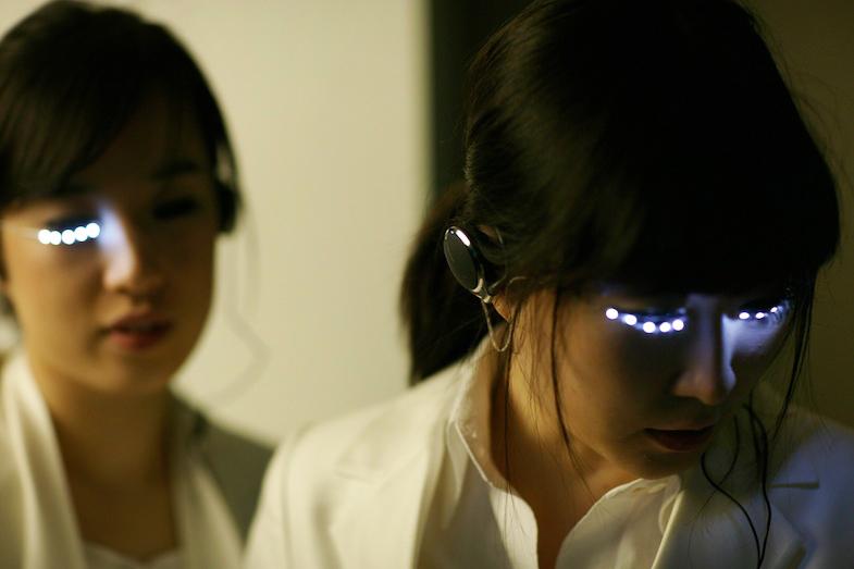 """""""Led Eyelash"""" by Soomi Park"""