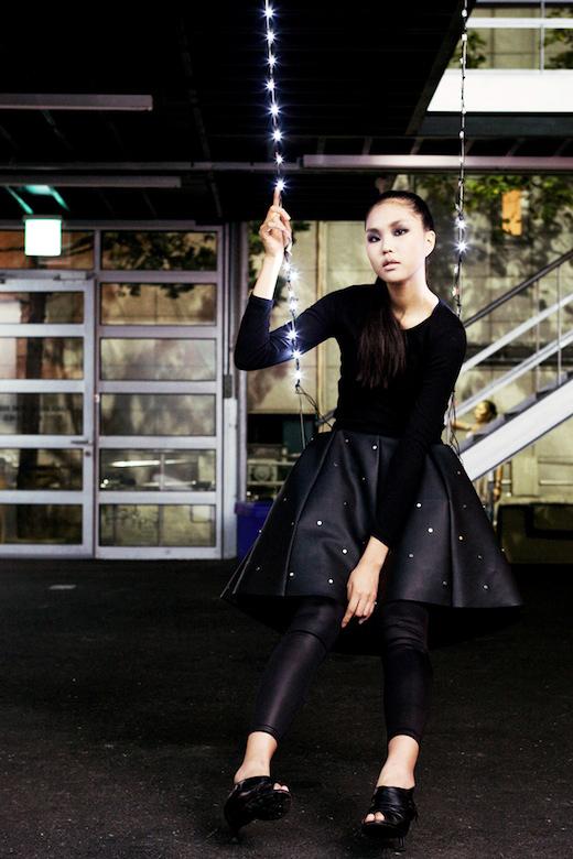 """""""Swing Skirt"""" by Soomi Park"""