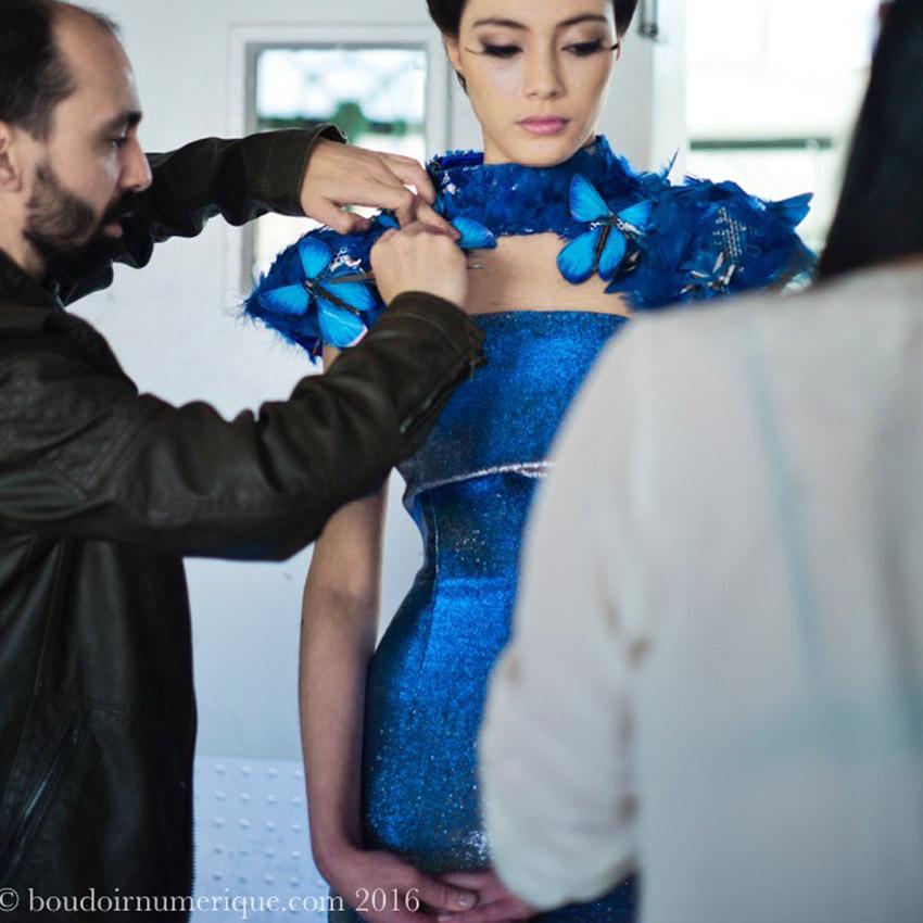 Butterfly Dress de Tuba et Ezra Çetin, en collaboration avec Intel