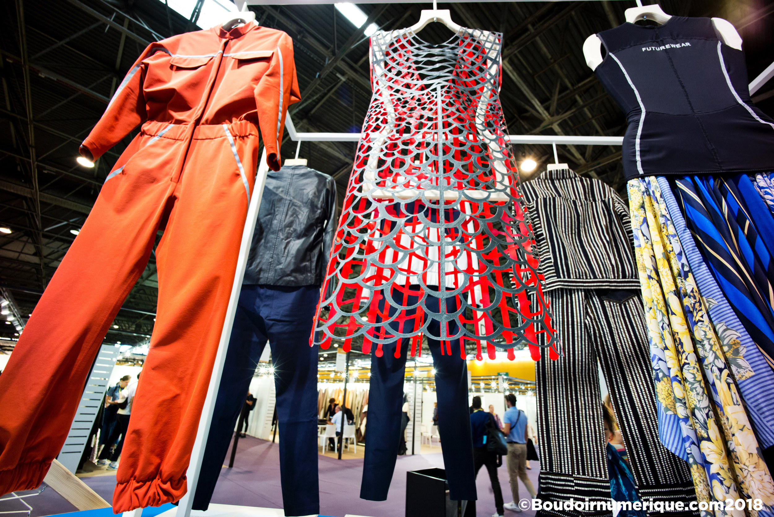 Smart Wardrobe de Première Vision Paris (© Boudoir Numérique)