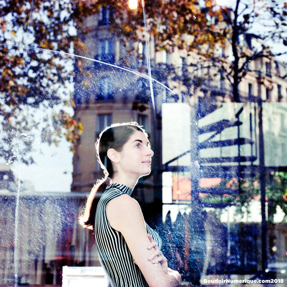 Alice Gras, co-founder of Fashion Tech Week Paris, in Paris, October 12, 2018 (©Lionel Samain for Le Boudoir Numérique)