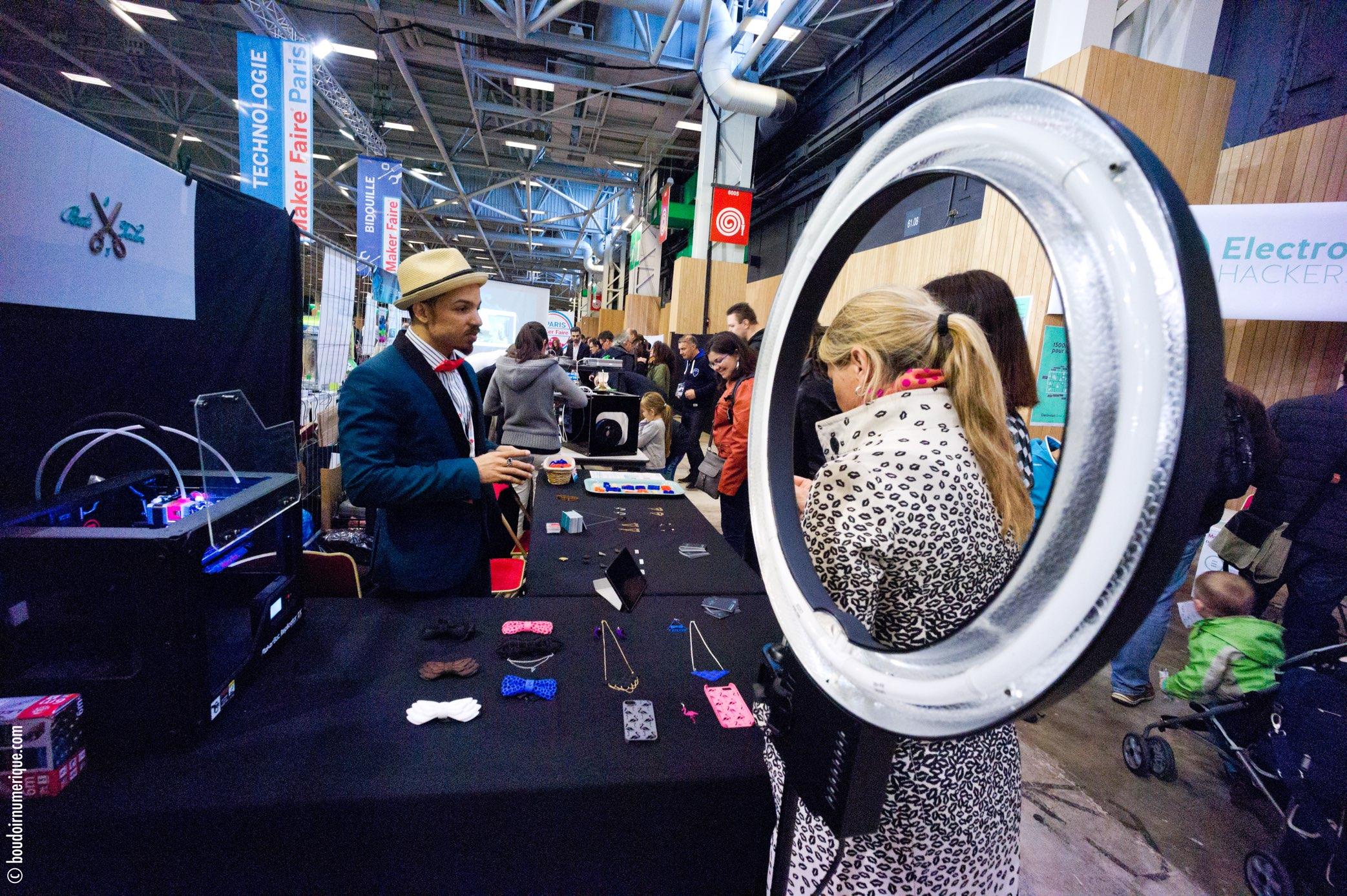Maker Faire Paris, in 2015 (©LeBoudoirNumérique)