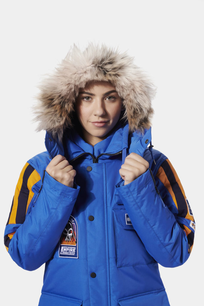 The limited-edition Star WarsEmpire Crew Parka modeled directly after the original (©Columbia Sportswear)
