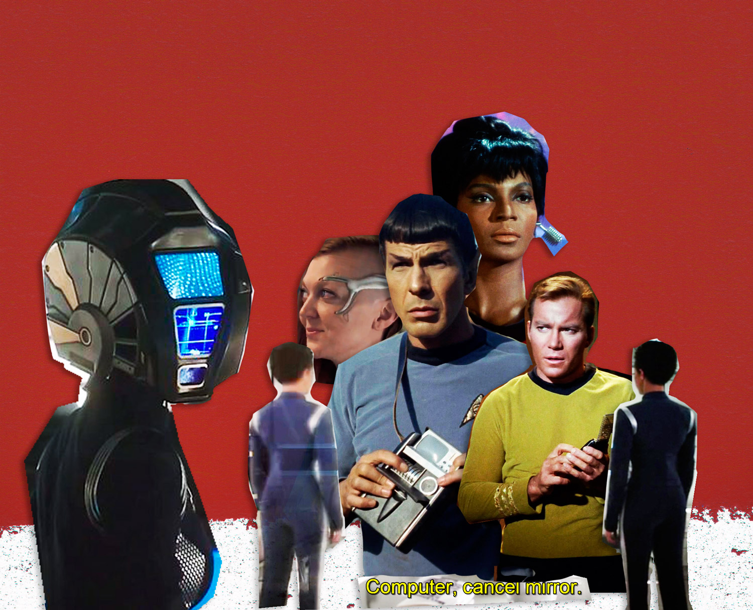 Star Trek : Discovery (2017 - 2018) et Star Trek : The original series (1966 - 1969)