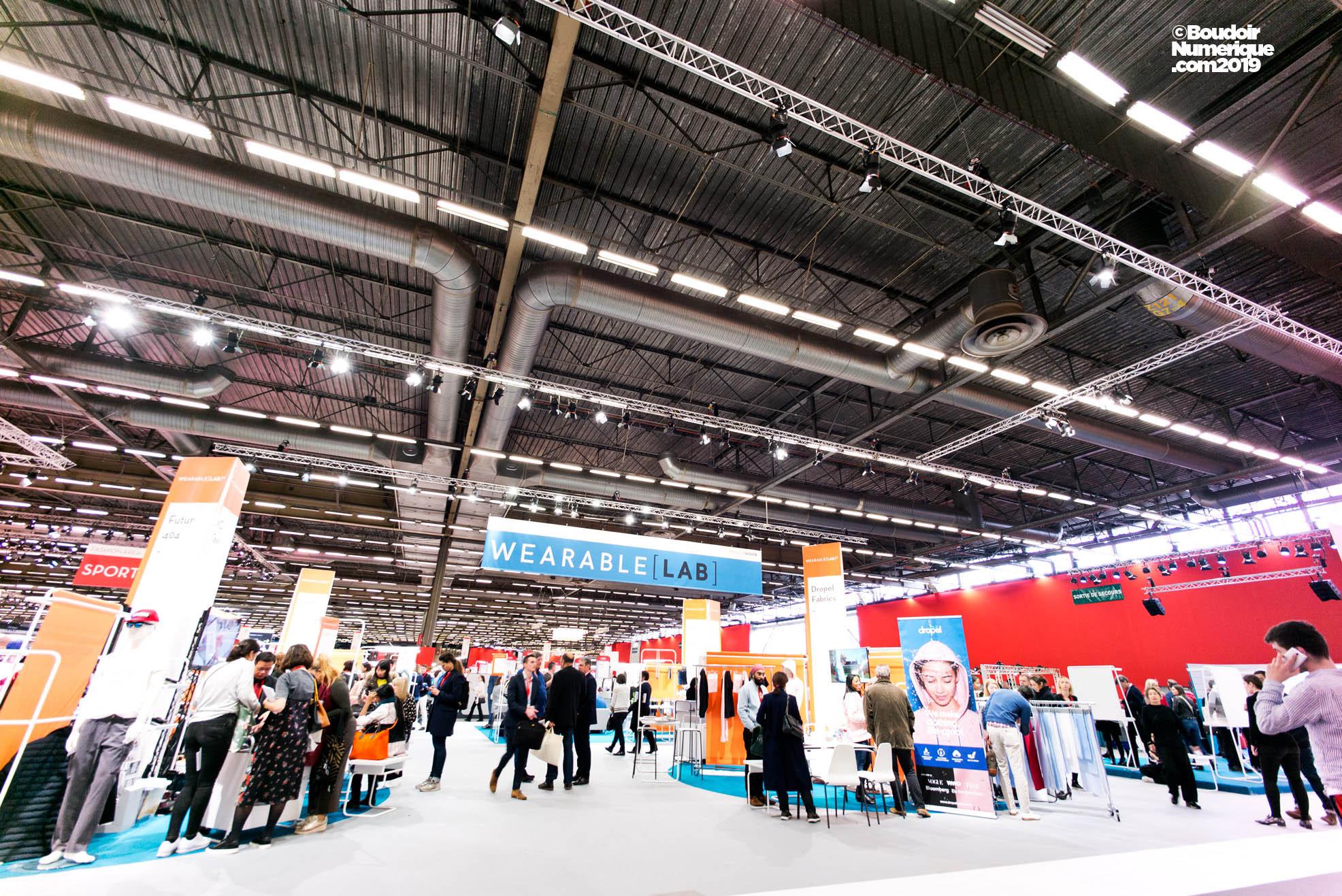 La 3e édition de l'espace Wearable Lab s'est déroulée, à l'occasion du salon Première Vision Paris, du 12 au 14 février 2019, au Parc des Expositions de Villepinte.