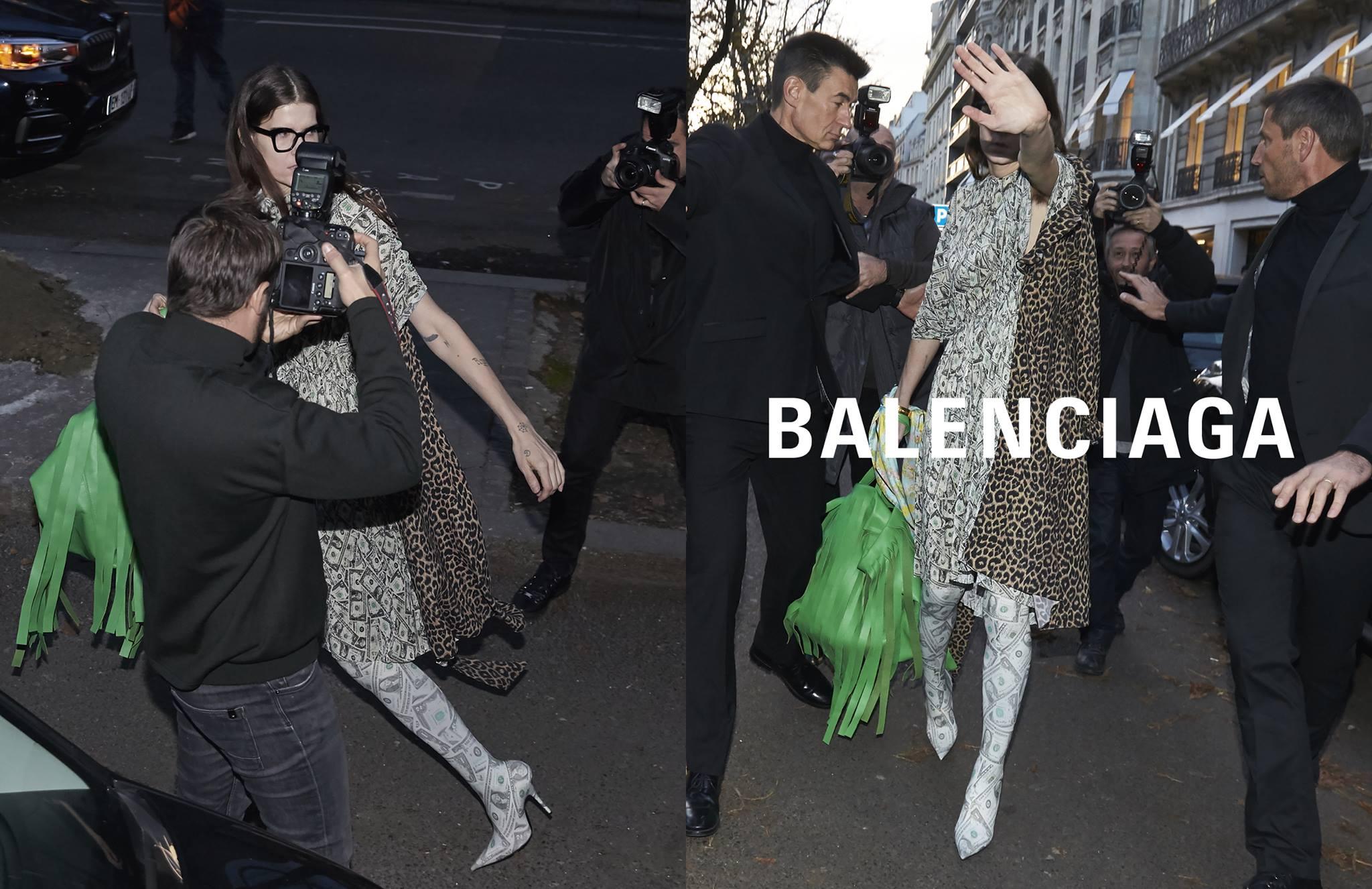 Campagne été 2018 de Balenciaga