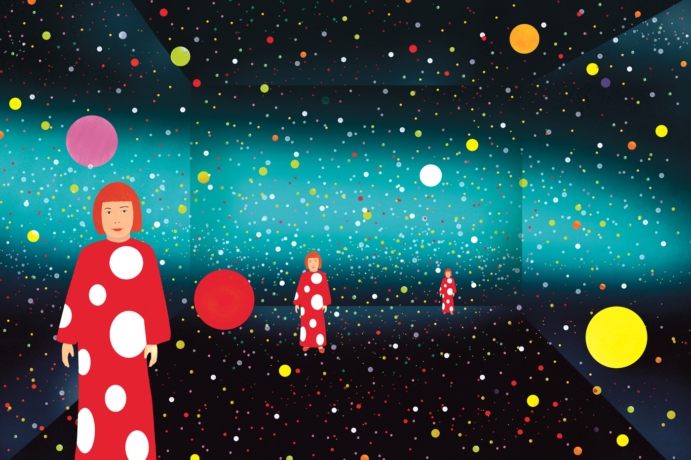 Yayoi Kusama: From Here to Infinity published by the Museum of Modern Art