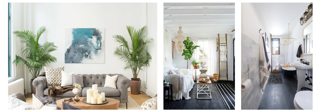 I love this company and the work they do.Home tours of some of the most beautifully decorated spaces all over the country,done by Homepolish designers.