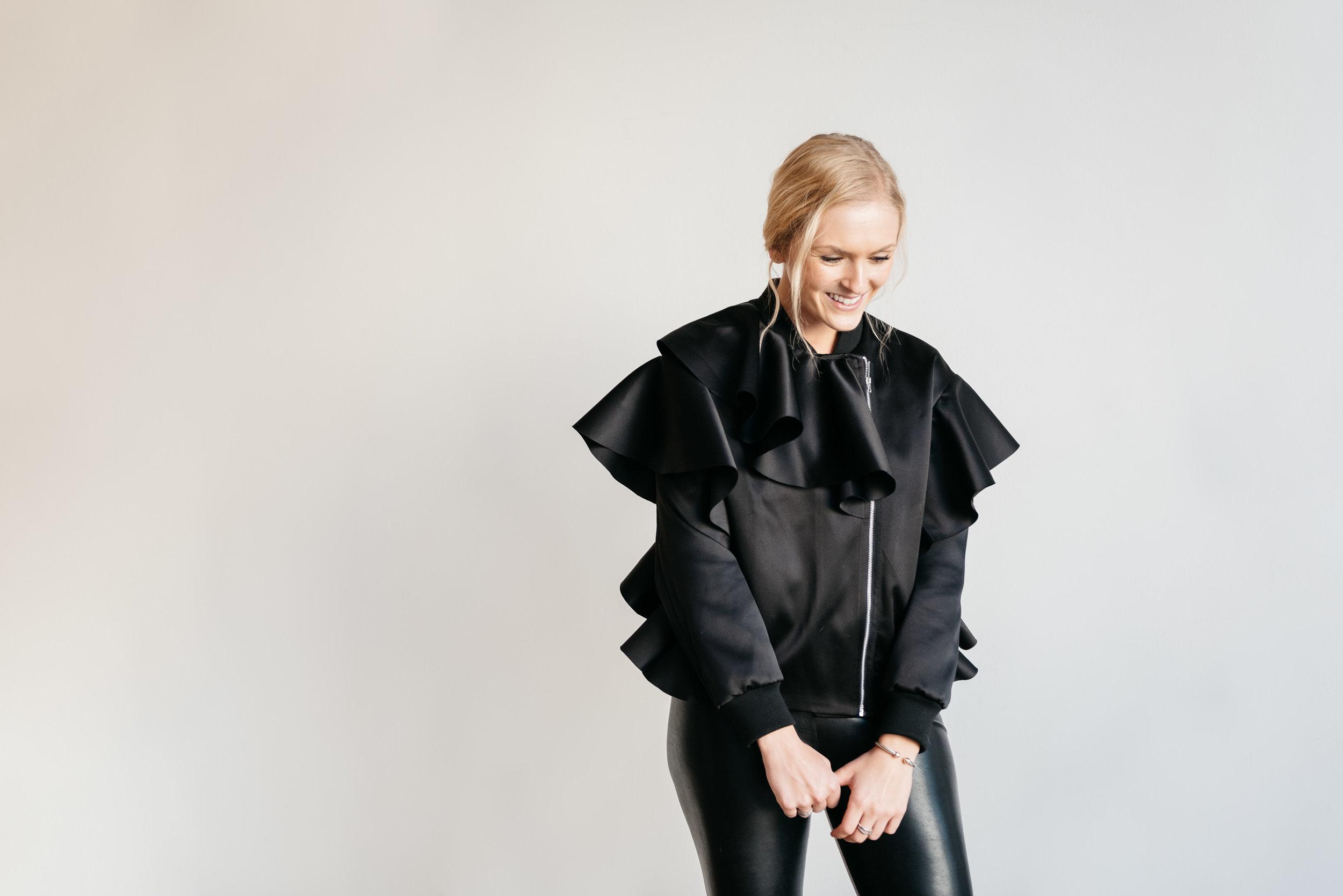 ruffle-bomber-jacket