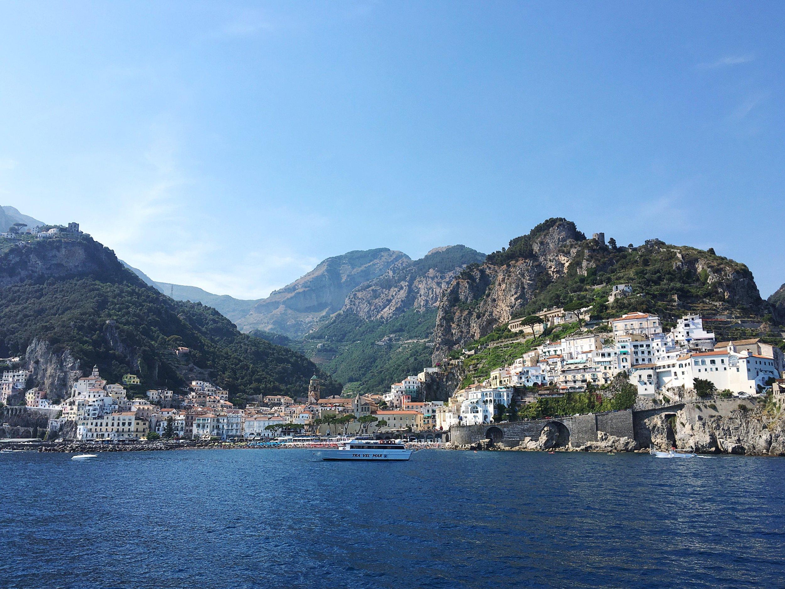 The-amalfi-coast