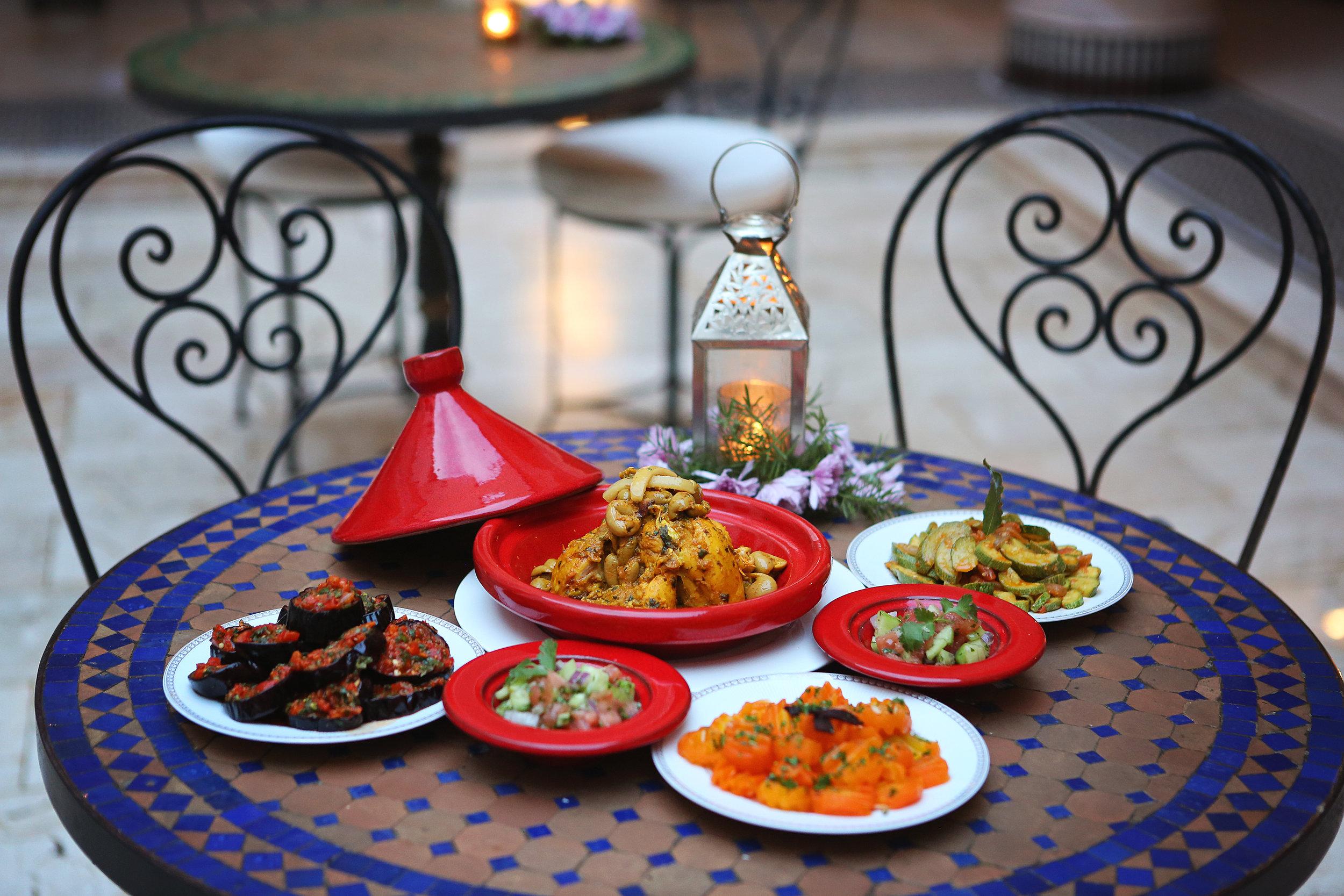 Morocco Traveling Food Riad Fes