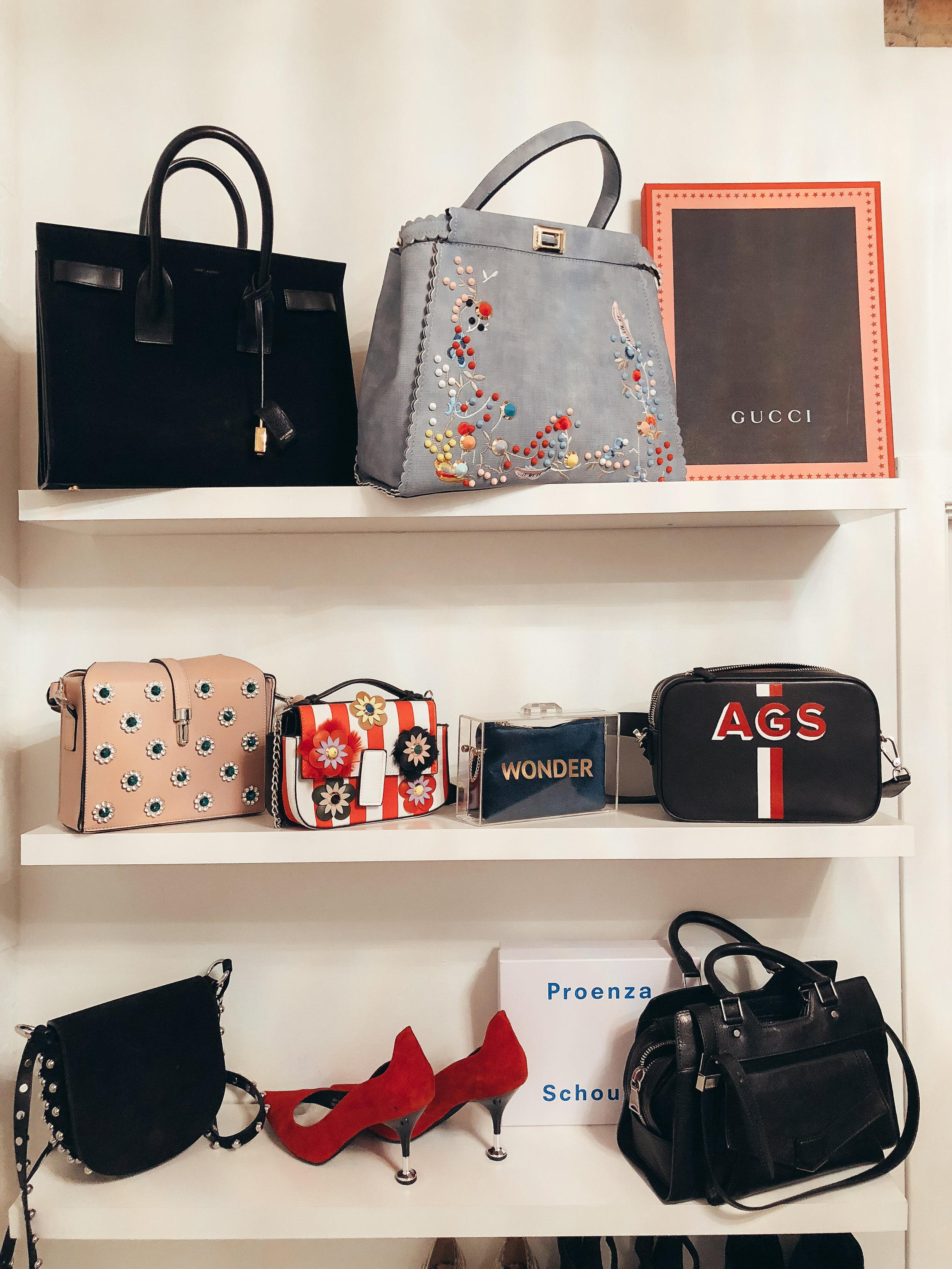 accessories closet