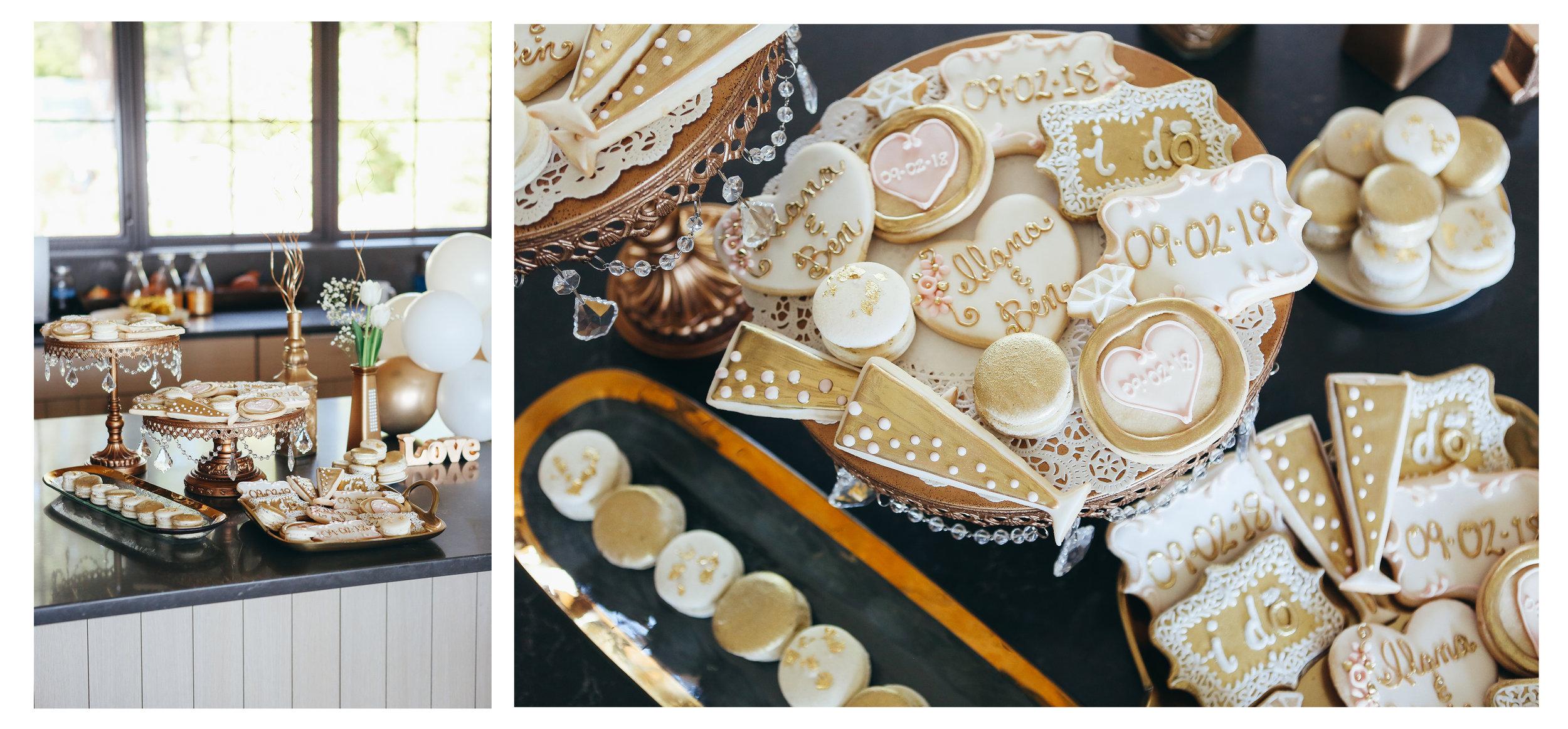 bridal shower pastries toni patisserie
