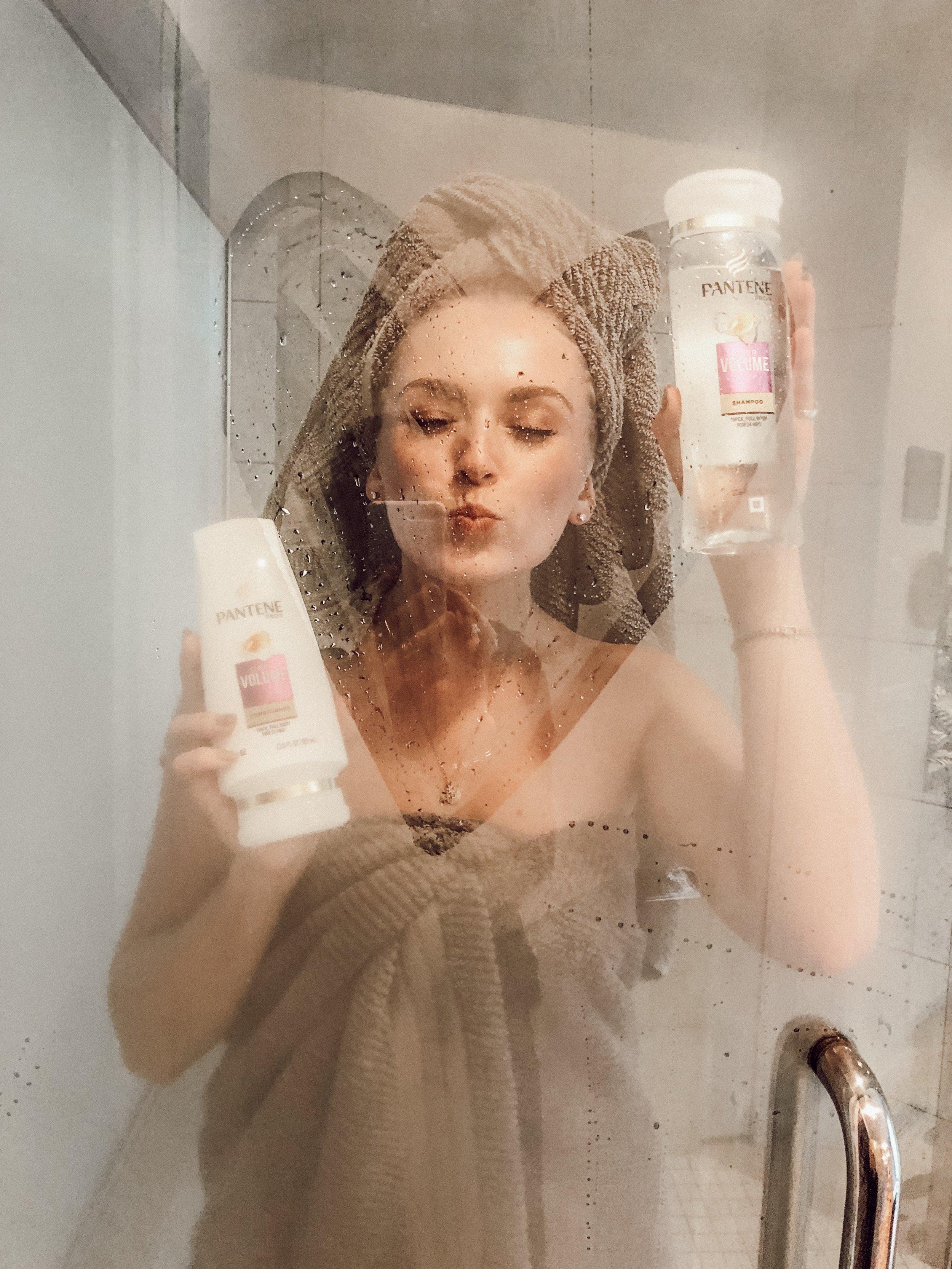 pantene sheer volume shampoo and conditioner