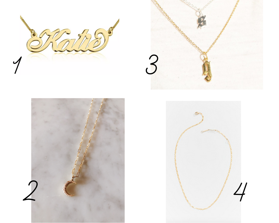 My everyday gold necklaces