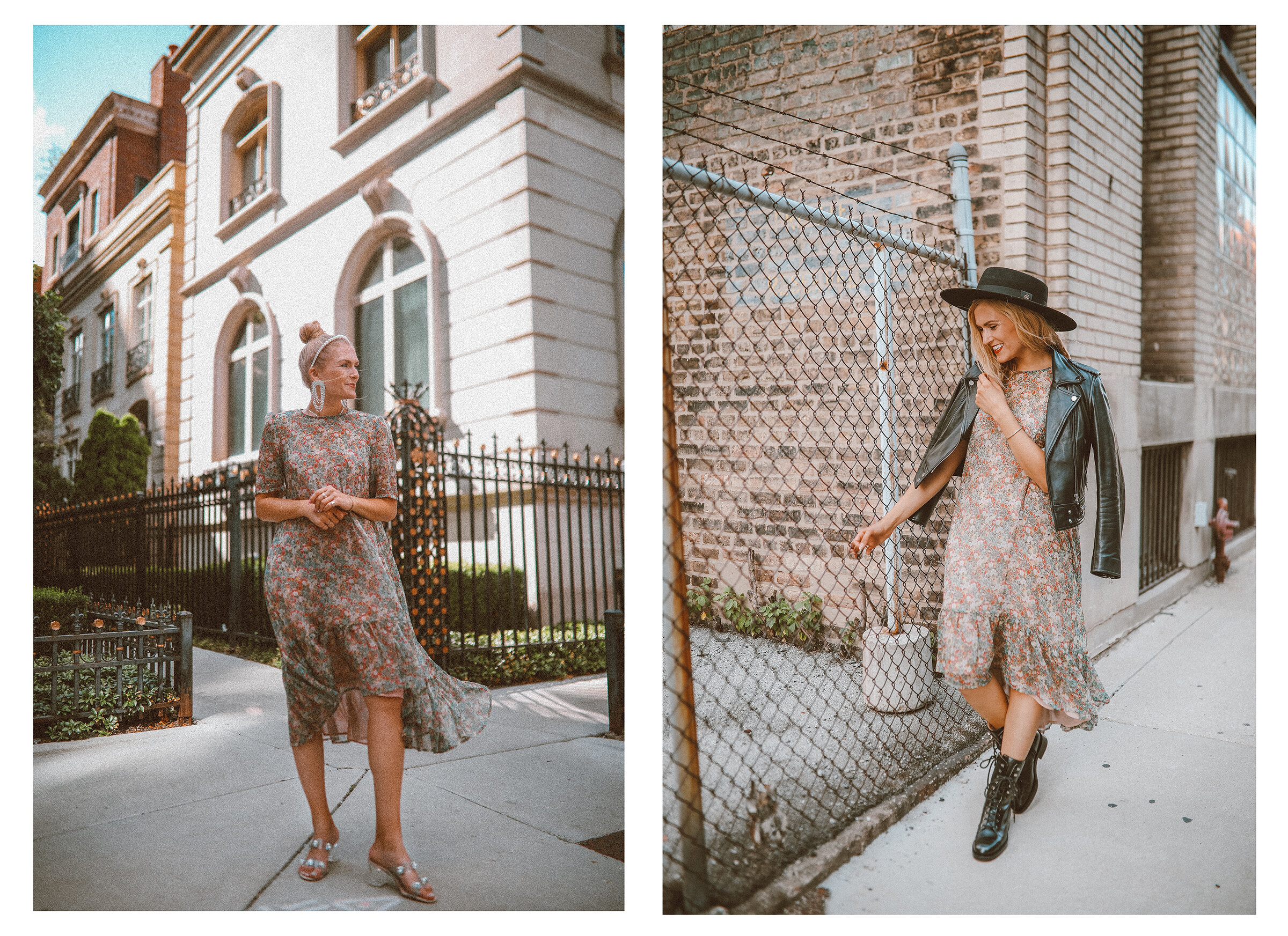 1 Dress Styled 2 Very Different Ways