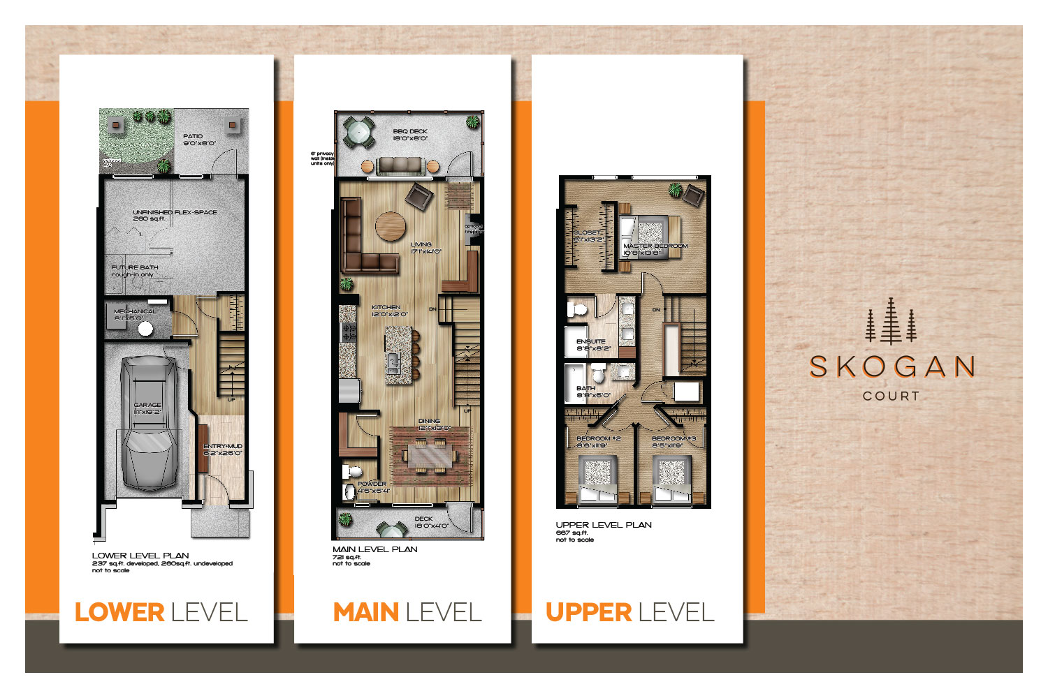 Townhome Layout - CLICK TO EXPAND