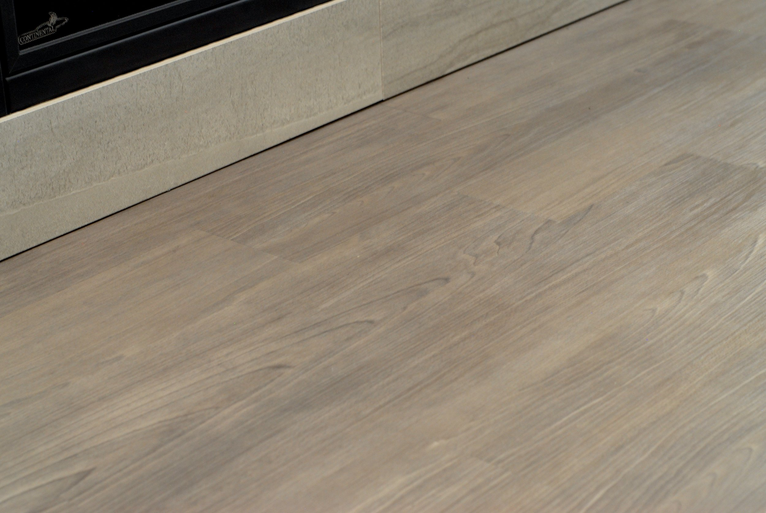 Beautiful French Grey plank flooring