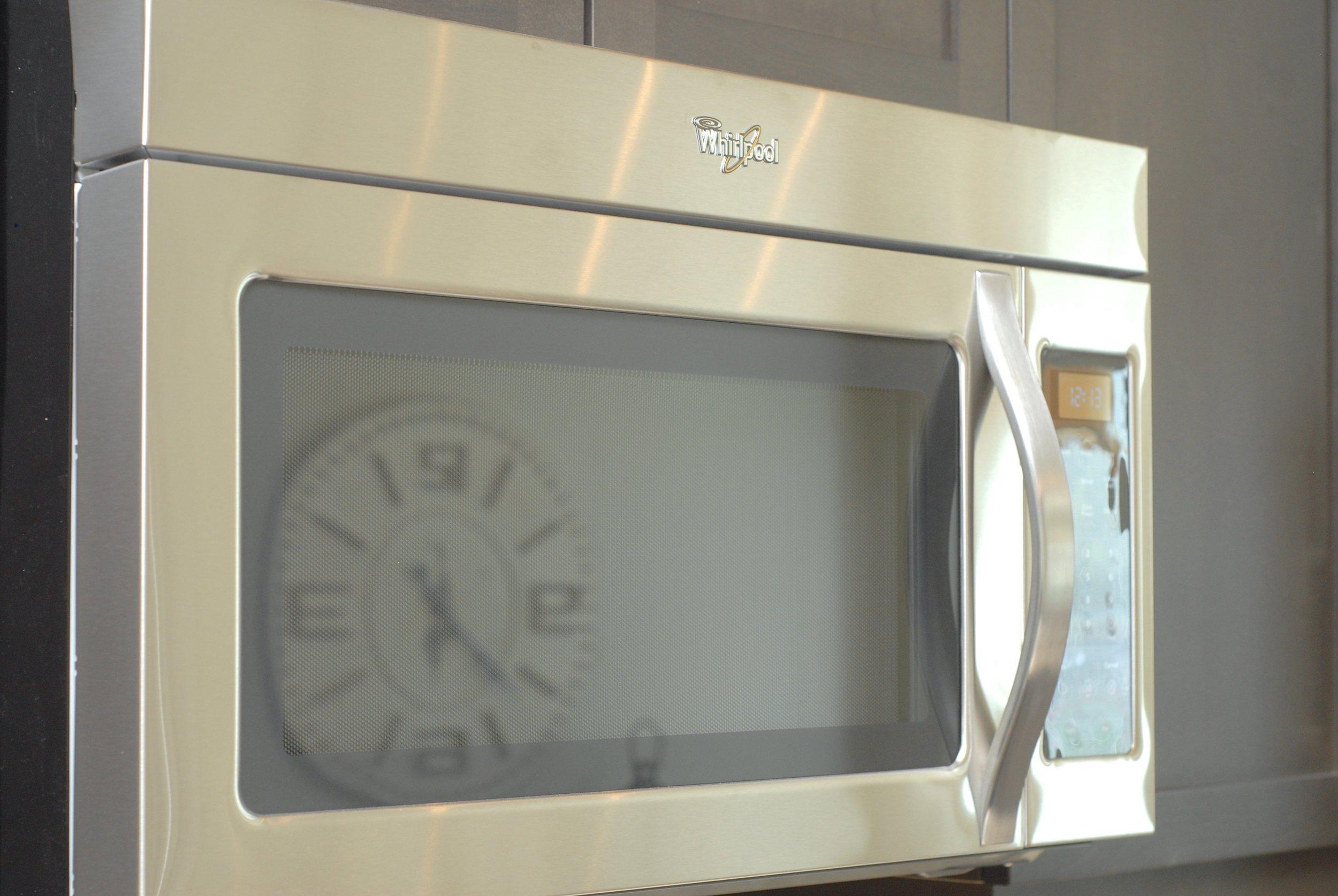 Whirlpool microwave hoodfan