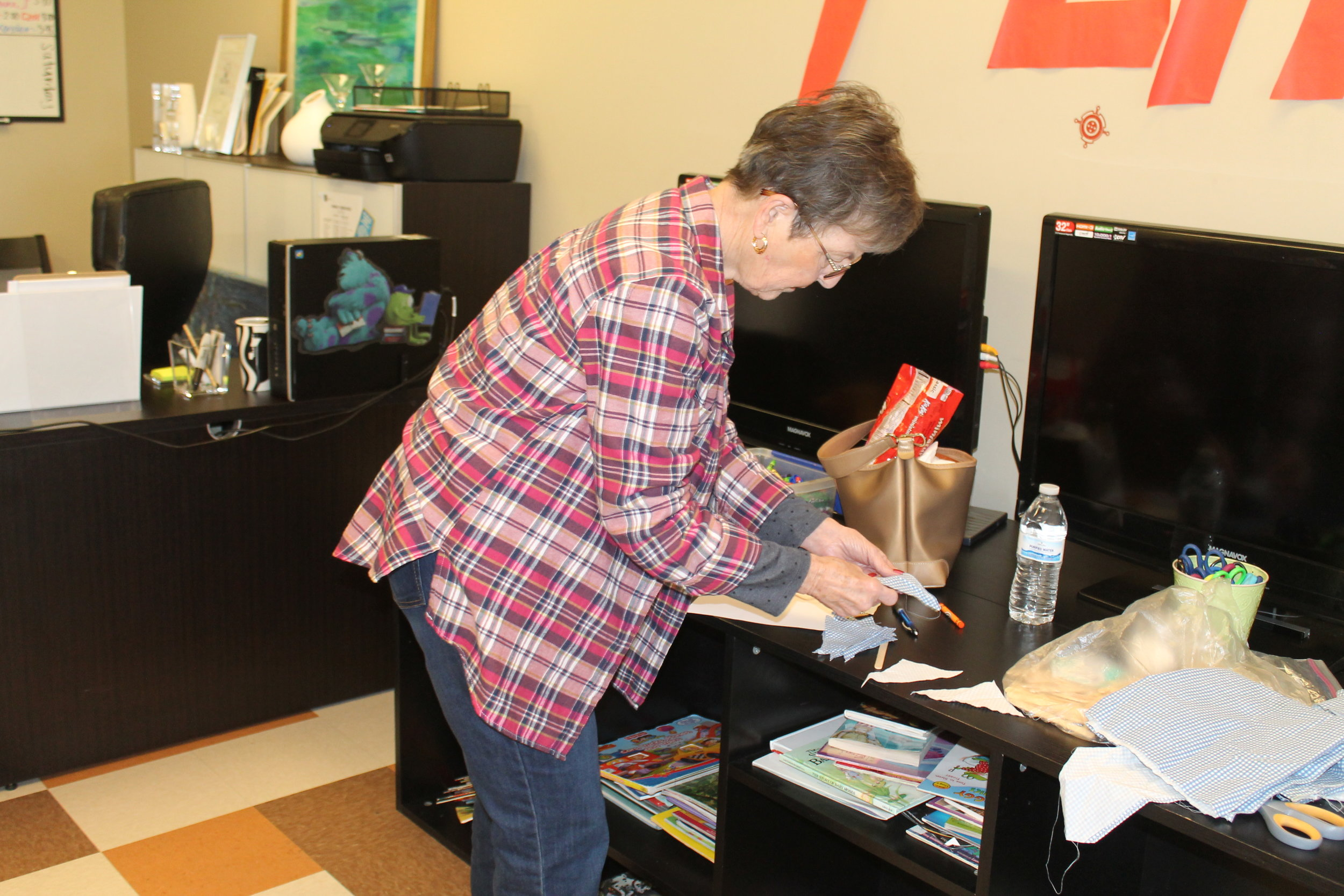 Hero of the day: June Pomeroy-thanks for being a hero to the kids at the Salvation Army Homeless Shelter this Saturday.