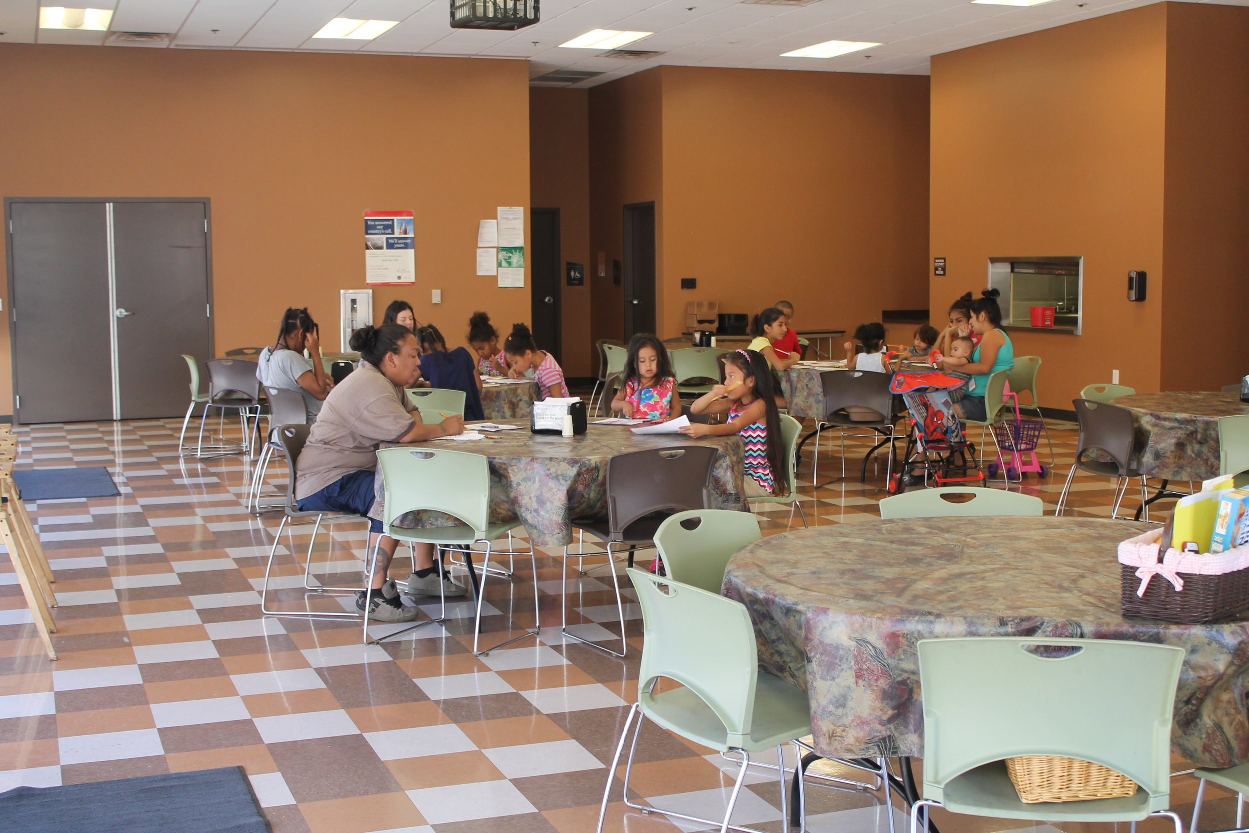 Mother's Day event at the Salvation Army Phoenix