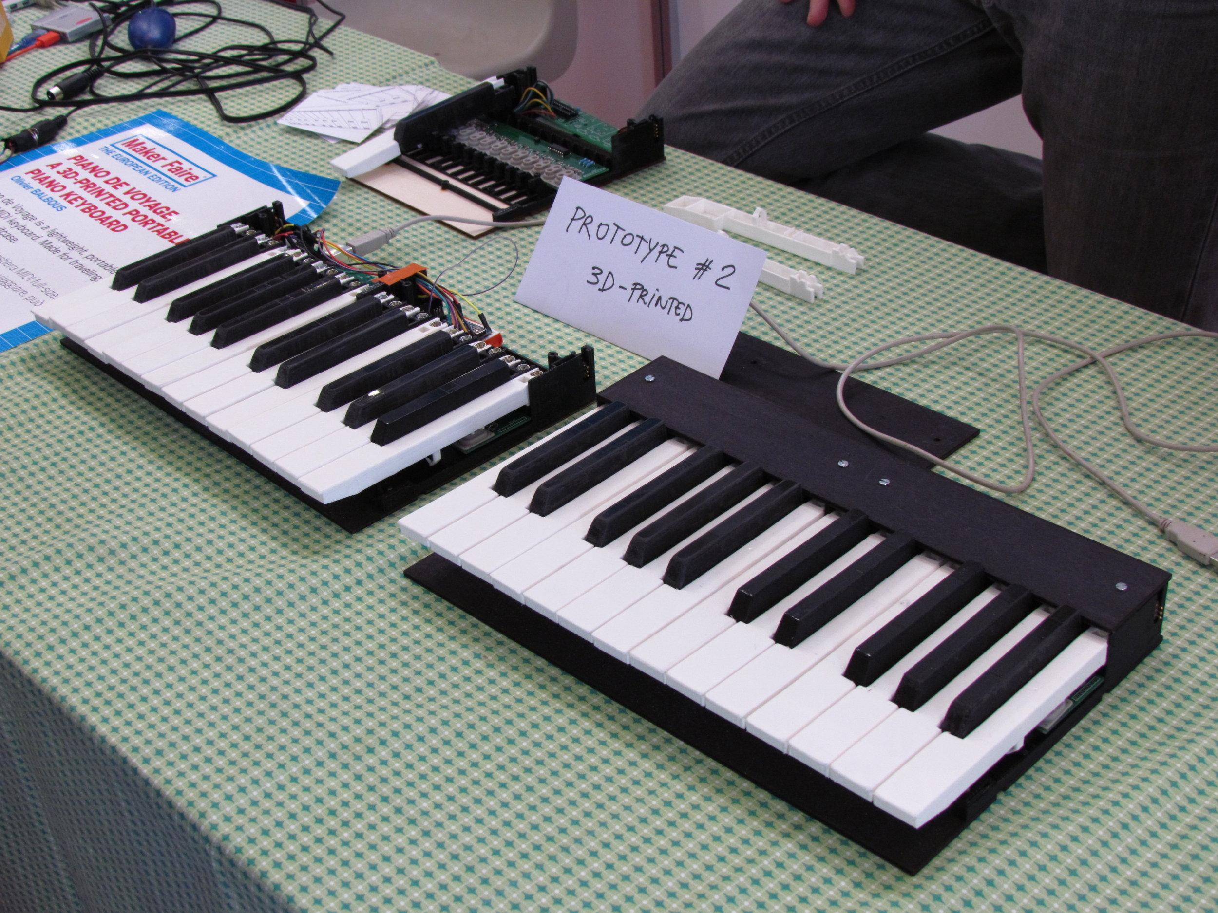 Pianoforte modulare portatile