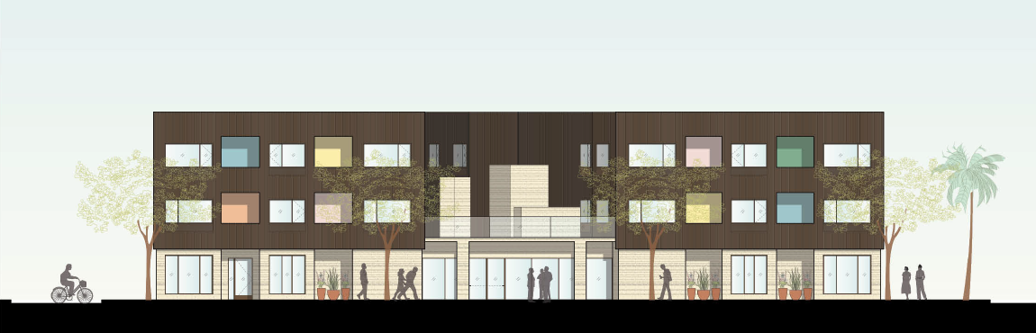 Proposed:1405 Wellesley Ave