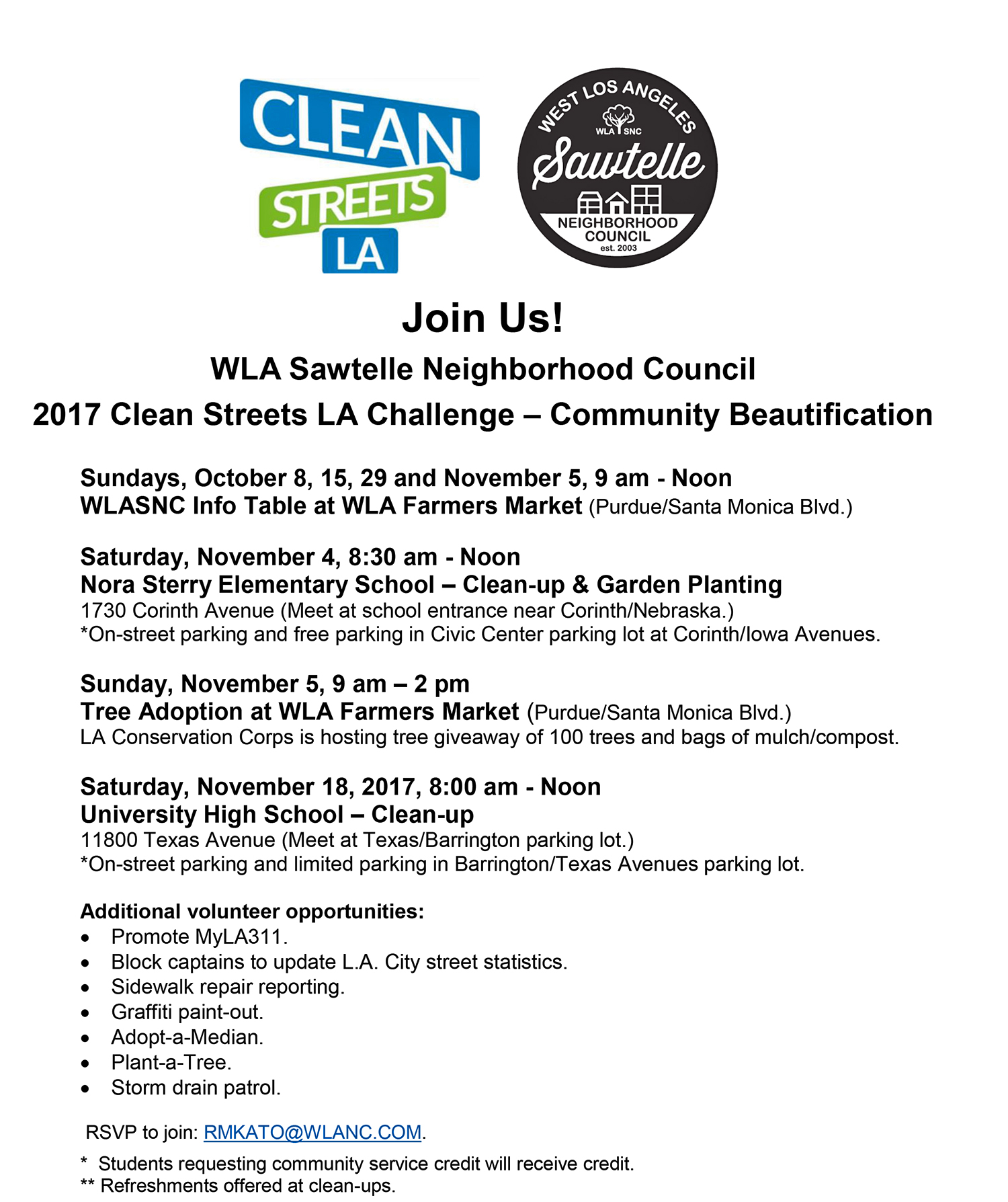 FLYER_2017 Clean Streets_Community Events_2017Oct7.jpg