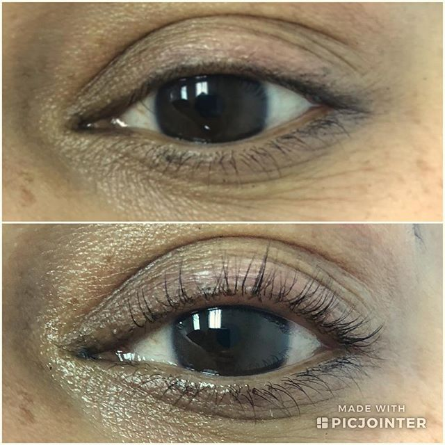 ✨LASH LIFT and TINT✨#beforeandafter!  Sherin's lashes were seriously hiding and just came out to play!! Can't wait to share a picture with mascara on!  #lashlift #lashliftandtint #lashlife #lashliftlongisland