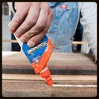 Figure 3- Use elmer's wood glue for superior holding strength.