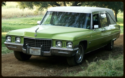 "Green hearses have been around long before the ""Green"" movement."