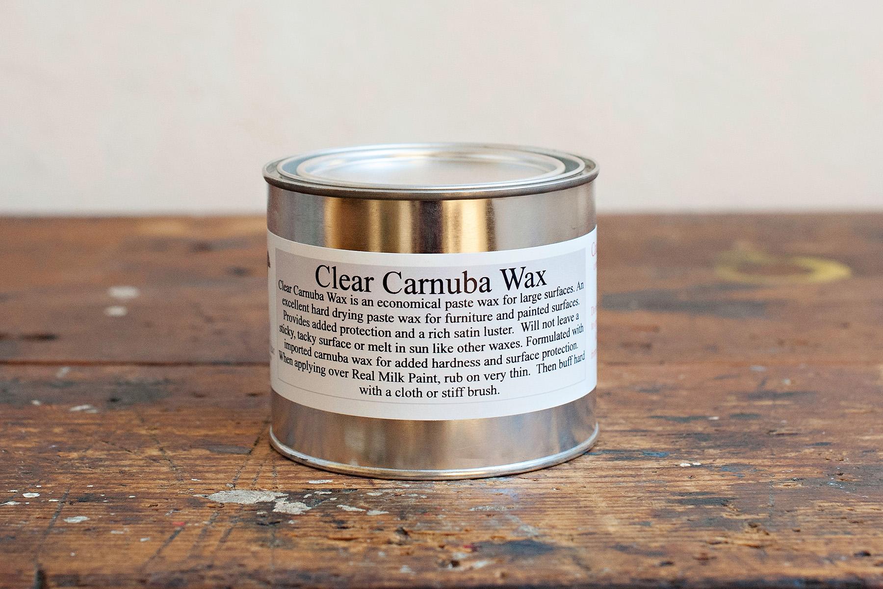 Clear Carnauba Wax - Easy to Use