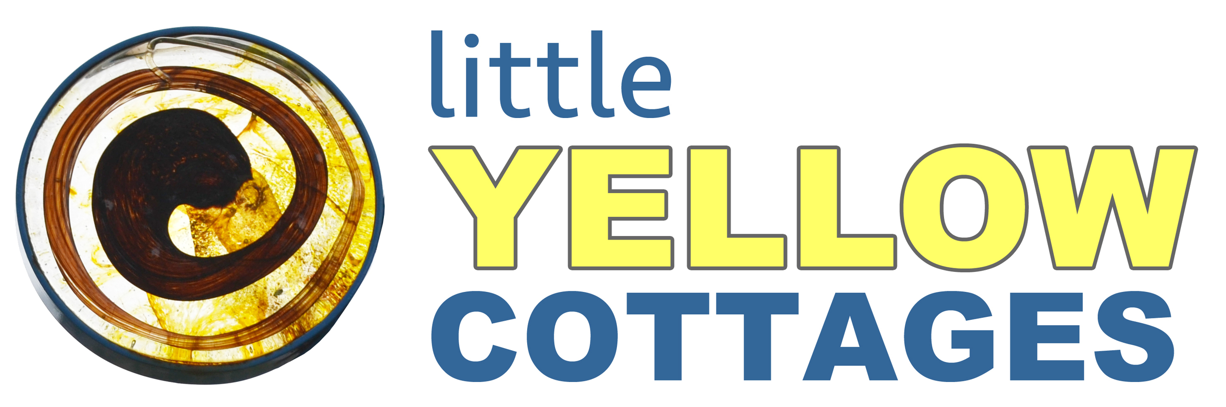 Little Yellow Cottages Logo