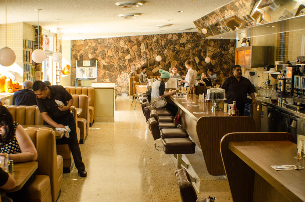 the 101 Coffee Shop
