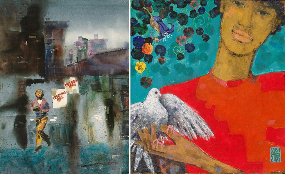 Paintings by Karl Kurth