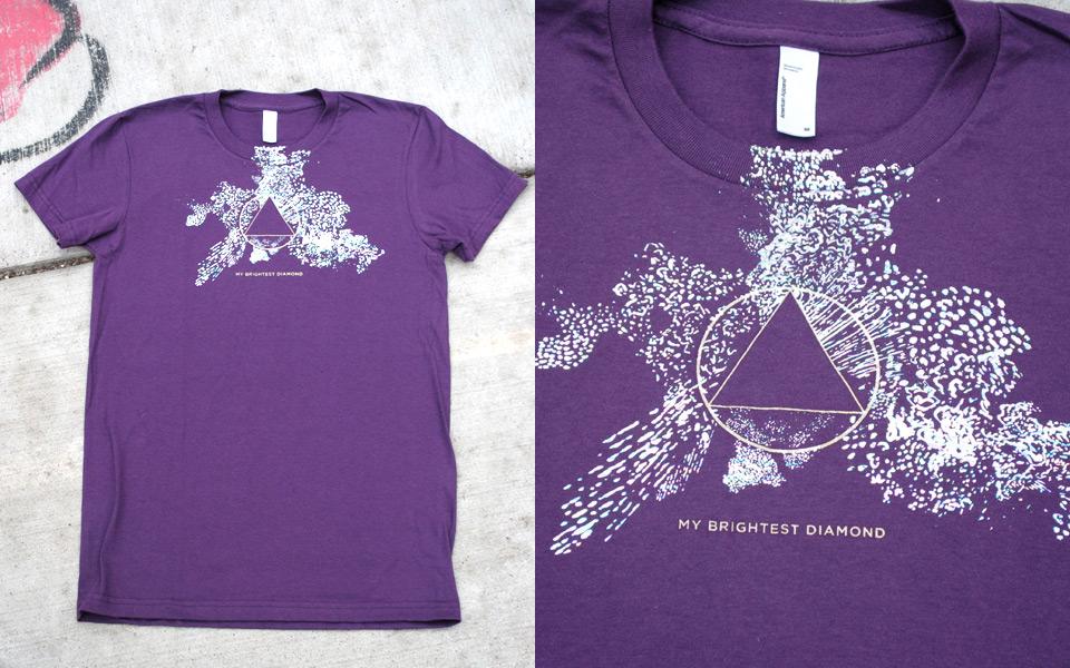 T-shirt for My Brightest Diamond
