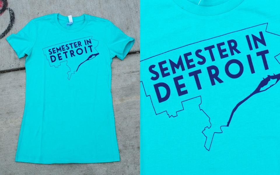 T-shirt for Semester in Detroit