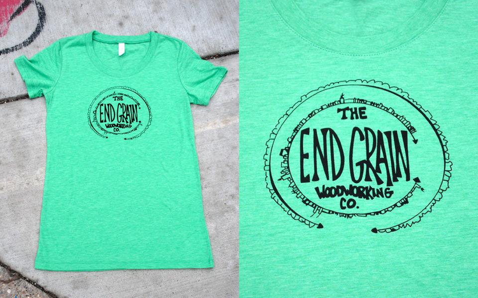 T-shirt for End Grain