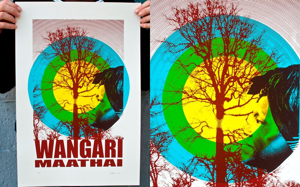 Wangari Maathai poster