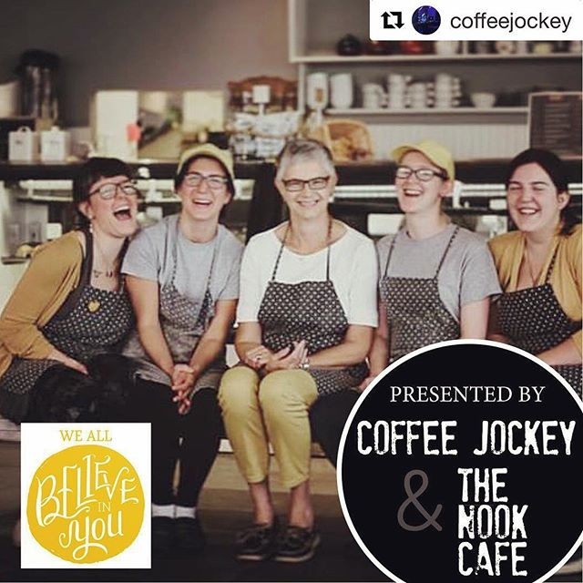 Wow, this should be fun. Saturday at @nookyeg @coffeejockey will be throwing a dance party (they take requests 😉) Get your tickets tonight before 10pm to save $5. . #Repost @coffeejockey with @get_repost ・・・ We are having a party and you are invited!  Us and our friends at @nookyeg will be host a fun kick off to spring this Saturday!  With a portion of the proceeds going to @blakeloates passion project We All Believe in You!  Today and tomorrow save $5 on your ticket! Promo code: WABIY  #yeg #yegevents #yegmusic