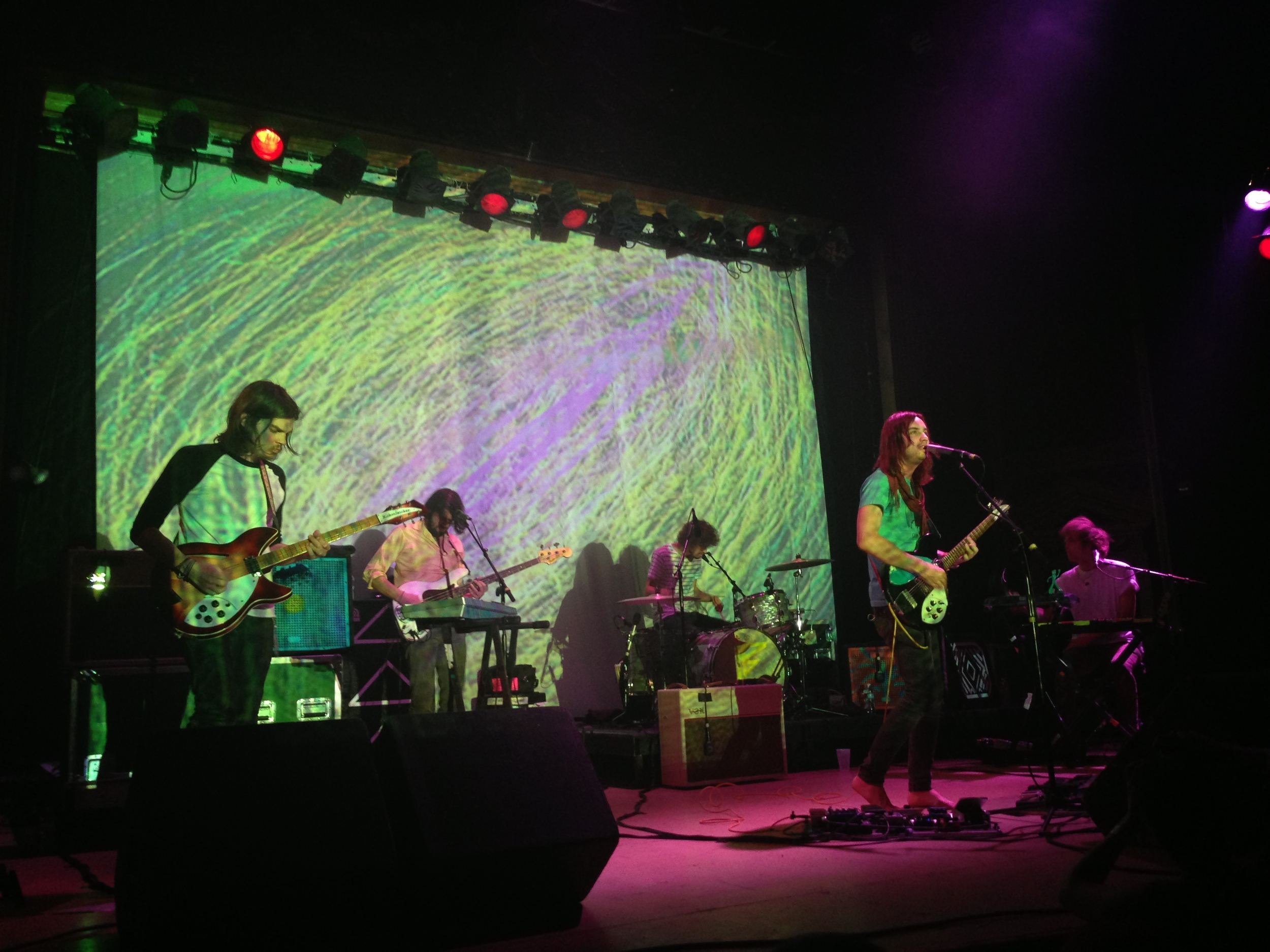Tame Impala at the Ogden Theatre