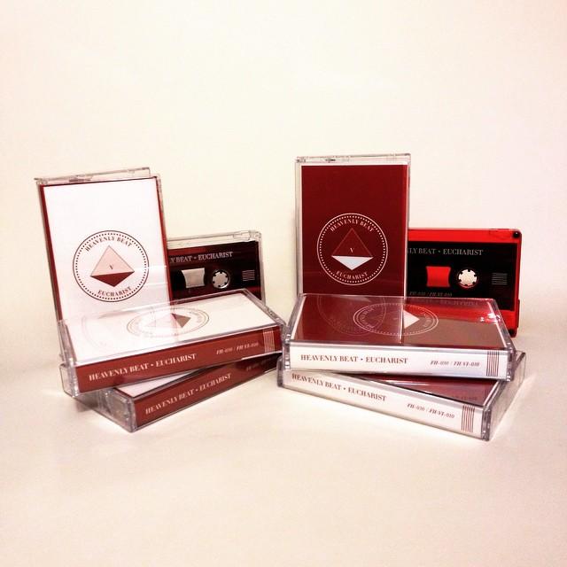 "The ""Body"" and ""Blood""tape editionsof Heavenly Beat's thirdalbum Eucharist"