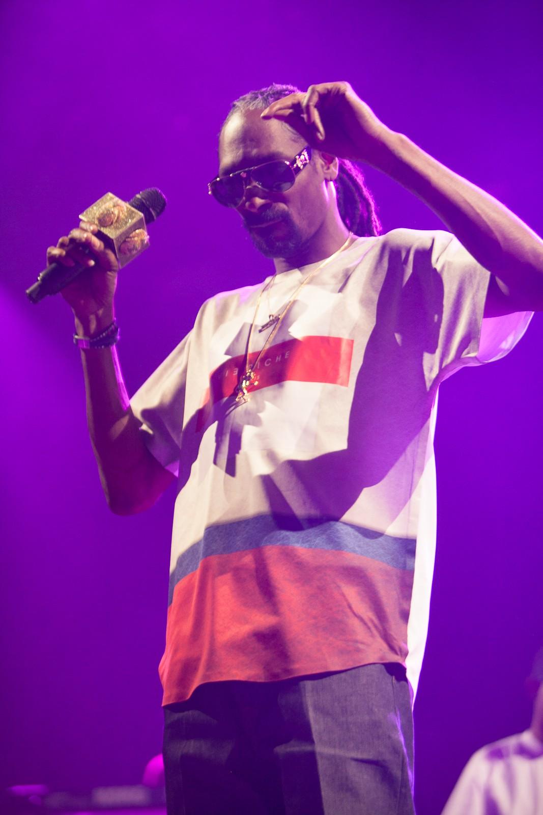 Snoop Dogg, headlining Denver Riot Fest (Photo Credit: Brandon Marshall, Westword)